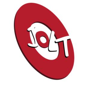 jolt logo letter heard